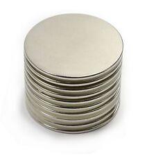 """10 x Dia. 40x2mm Super Strong Rare Earth Disc N52 Neodymium Magnet 1.57"""" x 1/12"""""""