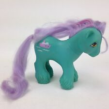 My Little Pony G1 Big Brother Daddy Salty Tugboat Green  MLP Hasbro 1987 Vintage