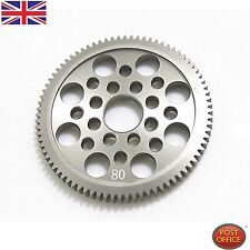 7075 Metal 48P Spur Gear 80T for SAKURA D3 CS S XI XIS 1/10 Drift Racing Car