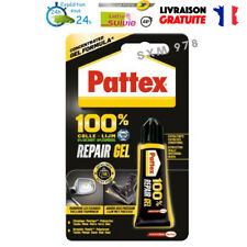 1 Tube PATTEX 100 % REPARE GEL Colle 8 gr Extra Forte Céramique Multi Supports