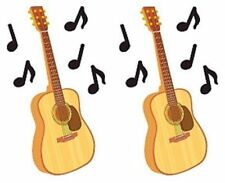Guitar Music Musician Notes Rock N Roll Country Mrs Grossman Stickers