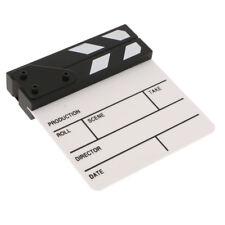 """Scritto Chap Clapboard 6.5 """"per Clap Board in legno acrilico serie TV Movie"""