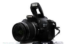Canon EOS 600D 18 MP Full HD DSLR und Canon EF-S 18-55mm IS Objektiv + OVP