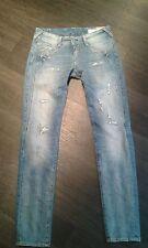 Herrlicher Damen-Jeans im Gerades Bein-Stil aus Denim