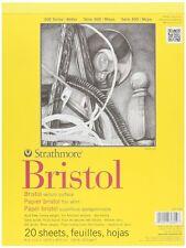 PRO-Art carta Strathmore Bristol PERGAMENA Blocco di carta da 9 POLLICI x 12 pollici, 20 FOGLI
