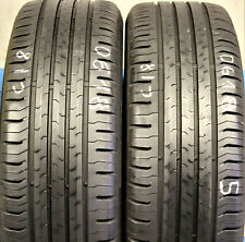 2x Sommerreifen Continental ContiEcoContact 5 195/55 R16 87H 6,5mm C18 DOT18