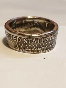 Coin Ring half dollar Size T