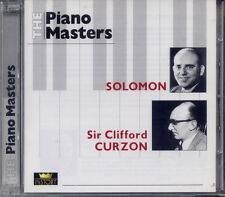 Piano Masters-Solomon/Sir Clifford Curzon (2) CD NUOVO & OVP