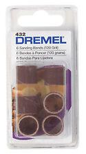 Dremel 1/8 In. Dia. 120 Grit Drum Sander Bands