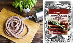 Natural SHEEP Casings Lamb GUT 18/20mm 15m  Sausage Fast Delivery