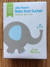 Little Martin's Manual Snot Sucker – Nasal Aspirator Nose Cleaner Mouthpiece ...