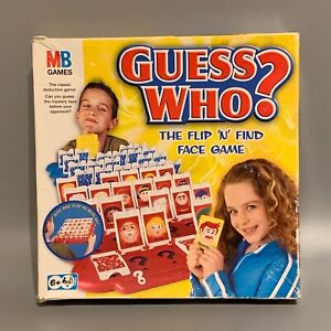 Guess Who? MB Game 2004 Edition - Spare/Replacement YOU PICK THE CARD
