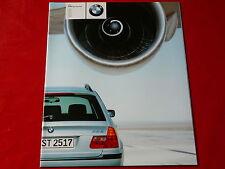 BMW 3er E46 Touring 318i 320i 325i 330i 320d 330d Prospekt von 2000