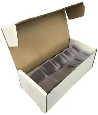2.5x2.5 Vinyl Coin Flips Double Pocket Clear Safe Storage Frame A Coin 1000 Bulk