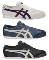 SCARPE ASICS ONITSUKA TIGER MEXICO 66 D5V1L D2J4L D832L SHOES PREMIUM LEATHER