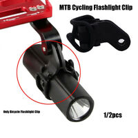 Flashlight Clip Bracket Adapter Road Bike Accessories Bicycle Light Holder