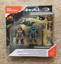2020 Halo Mega Bloks Clash Construx//No Anel Lote Com 8 Bonecos Novo Lacrado