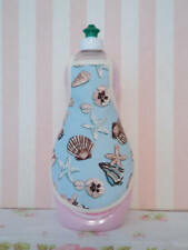 Seashells Beach House Coastal Cottage Kitchen Bathroom Soap Lotion Bottle Apron