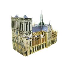 Puzzle 3D de Catedral de Notre-Dame Rompecabezas Divertido a1760