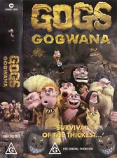 GOGS - GOGWANA VHS VIDEO PAL CLAYMATION 1998