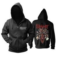 Slipknot Fans HOODIE Hooded Men JACKET Full Zip Sweatshirts Unisex Warm Coat