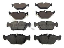 BMW E36 316 320 323 325 COUPE 1991-1998 FRONT & REAR BRAKE DISC PADS NEW SET