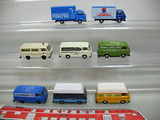 ai747-1 #8X HERPA H0 Transporter / CAMION VOLKSWAGEN VW LT : PANALPINA + neuform