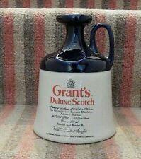 More details for grants deluxe scotch blue stoneware flagonjug/holder  scotland