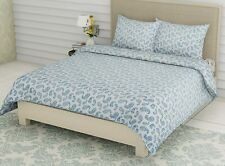 King Size Bed Sheets with Pillow Covers | 300 TC Premium Cotton