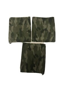 Camo Neck Warmer Green Fleece Lined Face Cover Adjustable Lot Of 3 Old Navy