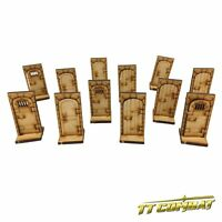 TTCombat - RPG Scenics - (RPG004) Single Dungeon Doors, great for Fantasy RPG