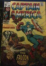 Captain America #126 Vg+ 1970