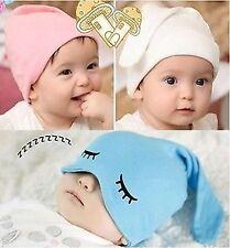 Baby Kids Boys Children Girls 100% Soft Cotton Cute Beanie bottle Hat Cap Prop