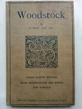 WALTER SCOTT.WOODSTOCK OR THE CAVALIER.H CORSTRPHINE.H/B RARE B/W ILLS.EXAM ED