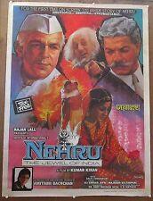 "India Bollywood 1985 Nehru 30""x 40"" poster Yuri Aldokhin Shyam Benegal"