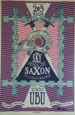 """""""SKY SUNLIGHT SAXON"""" Affiche originale entoilée FABLET 1989 84x124cm"""