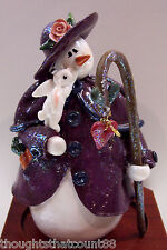Enesco Snow Littles Snowlady Limited Edtn #480533 Mib *Free Usa Shipping