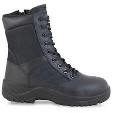 Magnum Centurion 8 Composite Toe CT Side-Zip SZ Boots Mens Safety Workwear Black