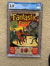 Fantastic Four #11 CGC 2.0