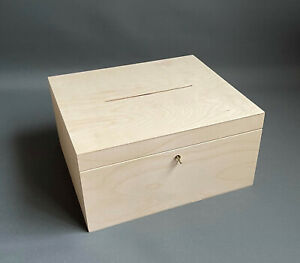 Wooden Large Storage Toy Box Tool Chest Room Organiser Lid Key Lockable Boxes
