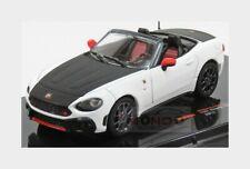 Fiat Abarth 124 Spider Turismo 2017 White Black IXO 1:43 MOC294