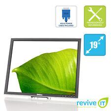 "Dell Professional 1907FP SILVER 19"" 1280x1040 LCD Monitor ONLY DVI VGA - Grade A"