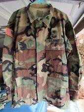 US Army 3rd ID OCP/BDU - Air Assault, Med Corps, Quartermaster Badges Lrg Reg