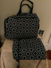 Sarah Wells Breast Pump Bag and Pumparoo Wet/Dry Bag Blue& White Great condition