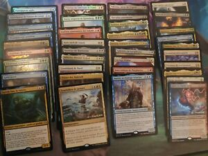Lot de cartes Magic rare/mythique foil