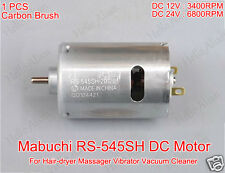 DC 12V 24V 6800RPM MABUCHI RS-545SH Permanent Magnet DC Motor for DIY Parts