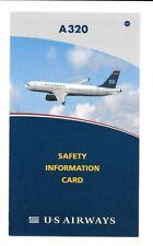 Safety Cards aus der Luftfahrt für Sammler