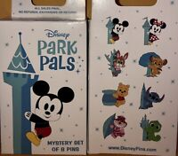 Disney Park Pals Mystery Box Sealed 2x Pin Chance Of Splash Mountain 2020 New