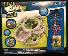 Ben 10 ultimate alien cartoon alien force creation chamber & 2 figures BANDAI