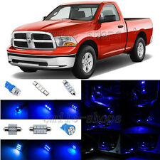 8pcs Blue LED Interior Light Package Fit For 2002-2010 Dodge Ram 1500 2500 3500